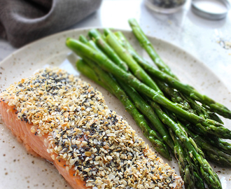 Sesame Crusted Salmon (Everything Bagel Salmon)