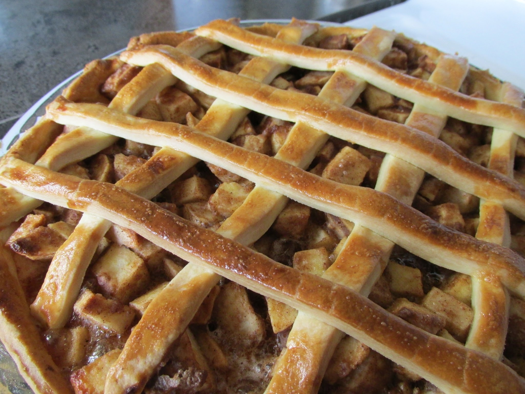 Make ahead pudding : Apple Pie
