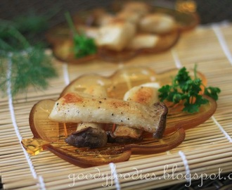 Recipe: Japanese Salt Grilled Eryngii Mushrooms (Kinoko no shioyaki)