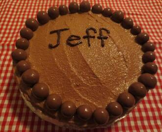 Nigella's Malteser Cake for Jeff's Birthday
