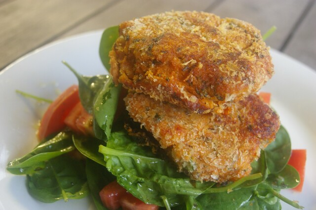 Moroccan Sweet Potato & Quinoa Patties
