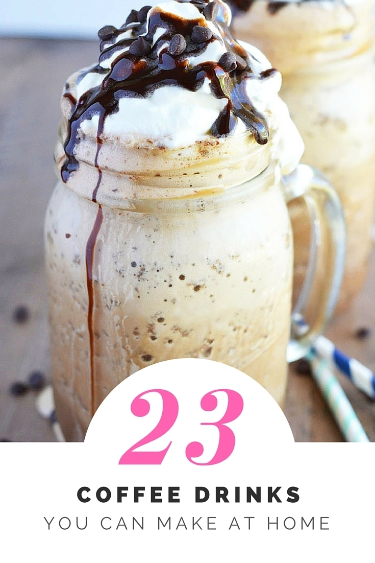 23 Coffee Drinks You Can Make at Home