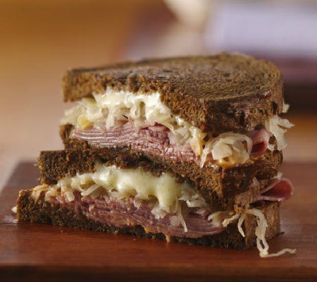 Homemade Russian Dressing and Reuben Sandwiches