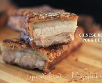 Recipe: Easy 3-ingredient Chinese roast pork belly (Siew Yuk 烧肉)