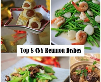 Baby Sumo's Top 8 Chinese New Year Reunion Dinner Dishes