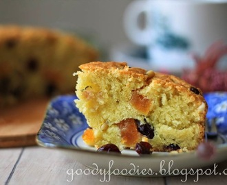 Recipe: Healthy Olive Oil, Fruit and Nut Cake