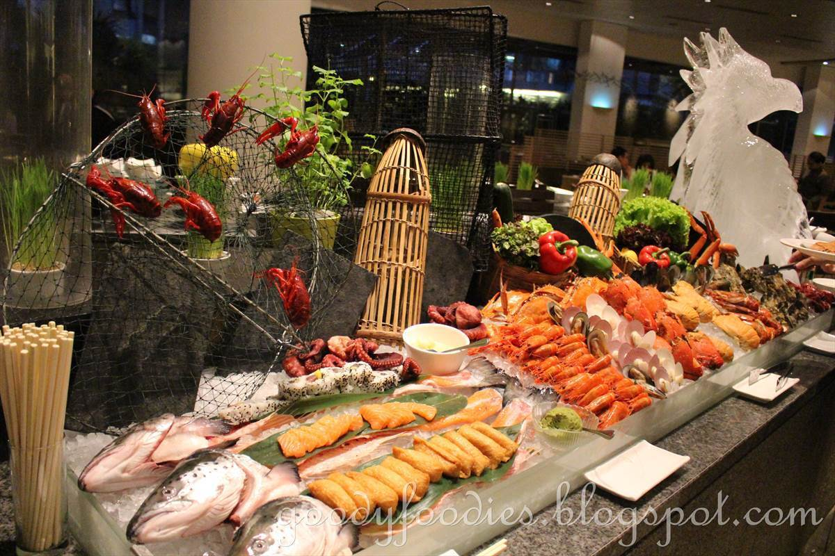 Seafood Buffet Dinner @ Serena Brasserie, InterContinental KL