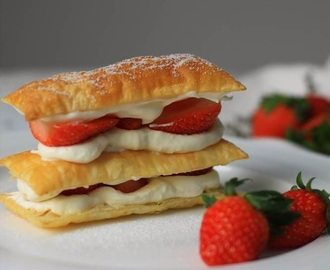Recipe: Strawberry Mille-Feuille Dessert