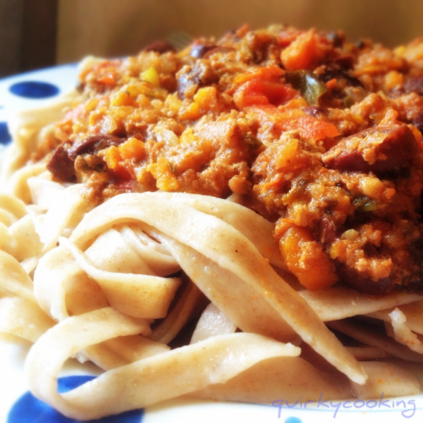 Bolognese Sauce in the Thermomix