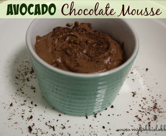 SRC: Avocado Chocolate Mousse