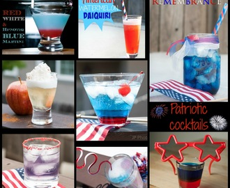 Patriotic Cocktails for the 4th of July