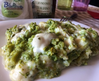 Lasagne con i broccoli siciliani