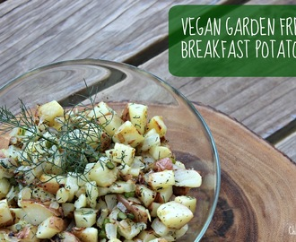 Meatless Monday: Vegan Garden Fresh Breakfast Potatoes