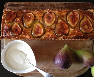 A French Fig Tart