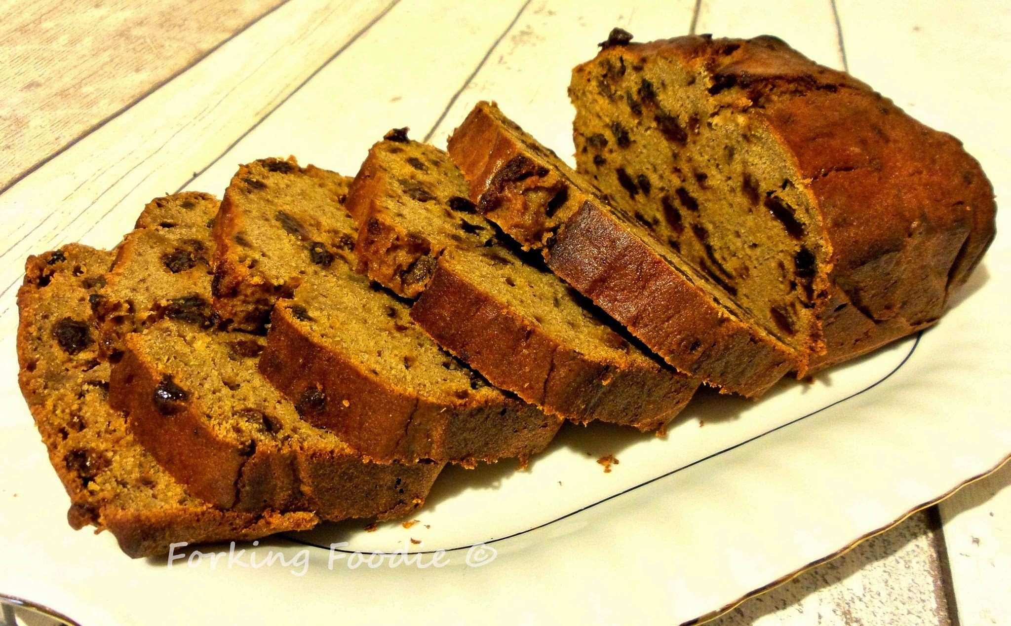 One Minute Banana, Date and Buckwheat Loaf (includes Thermomix instructions)