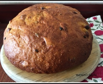 568. Mango and Passion fruit Yeast Bread