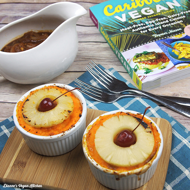 Classic Barbadian Sweet Potato Pie from Caribbean Vegan