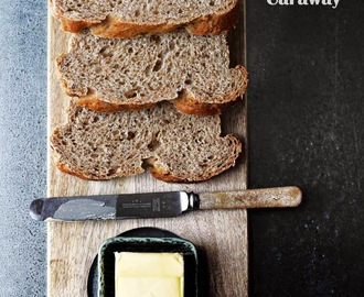 Rye Bread with Pickle Juice and Caraway