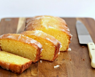 Sour Cream Lemon Drizzle Cake