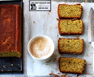 Lime and Pistachio Cake - Gluten Free