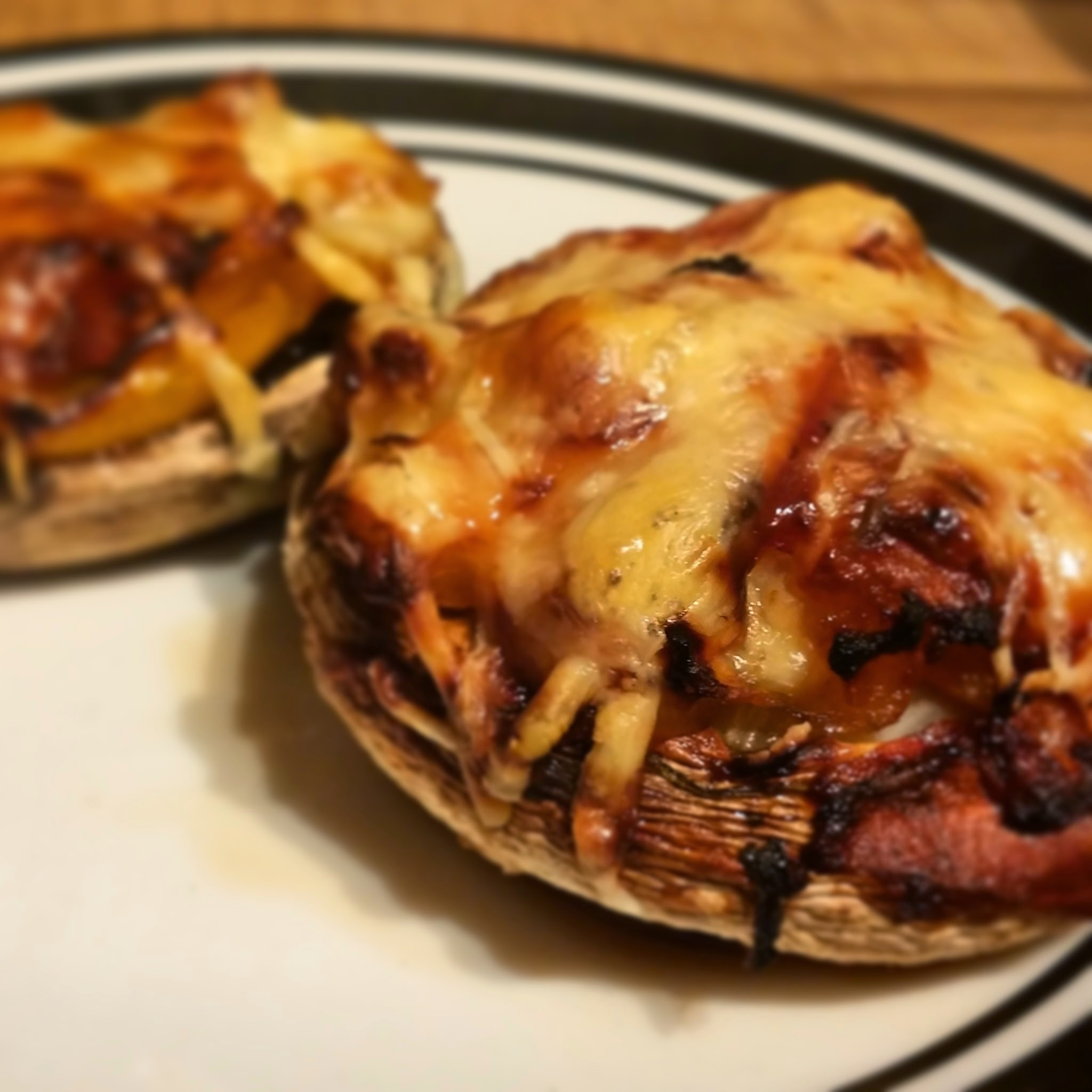 Recipe: Slimming World Stuffed Mushrooms