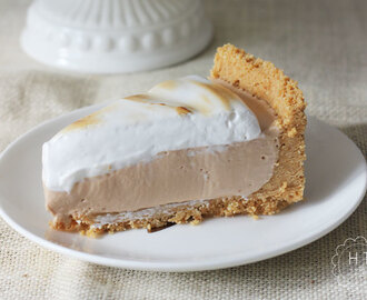 Simple s'mores cheesecake