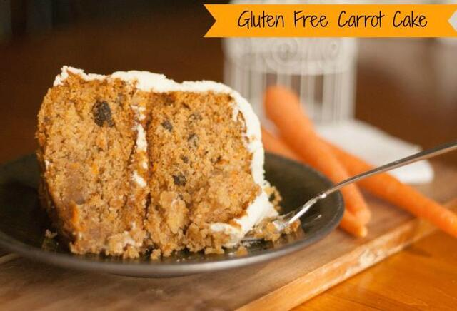 Gluten Free Carrot Cake - Recipes