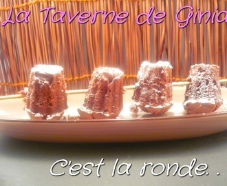 Cannelés choco-marrons, ronde interblog