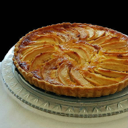 Handsome Is As Handsome Does - My Recipe Rotation - Apple Tart