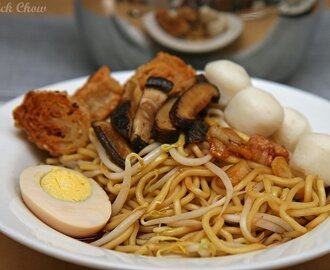 Fish ball noodle ( dry version )