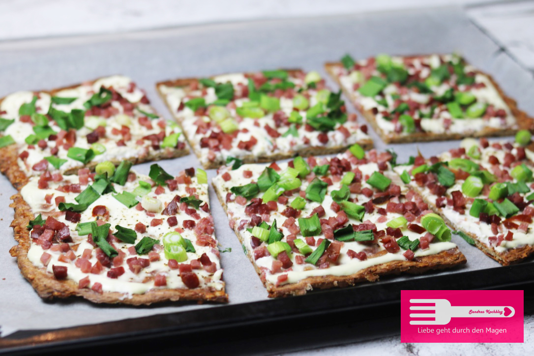 Flammkuchen (Low Carb)
