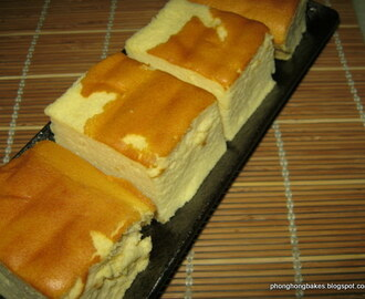 Mango Yogurt Cottony Cake