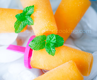 Cantaloupe Popsicles | Summer Popsicle Hack