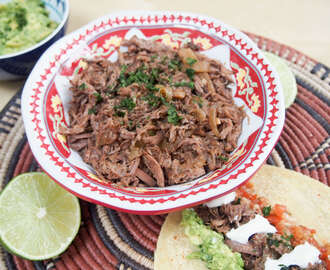 Mexican slow cooker beef