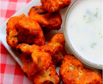 Cauliflower wings (healthy snack)