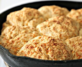 Garlic Cheddar Buttermilk Biscuits From Melissa's Southern Cookbook
