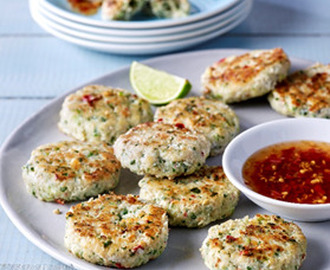 Thai Fishcakes with Chilli Dipping Sauce