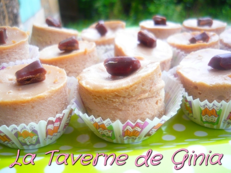 Mini-cheesecakes aux Carambars