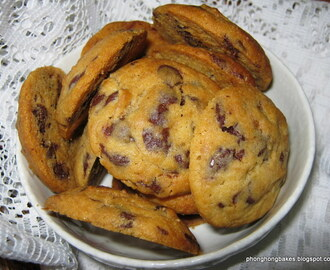 Malted Milk Chocolate Chip Cookies (Ree Drummond)
