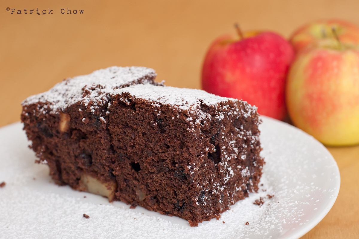 Chocolate Apple Cake