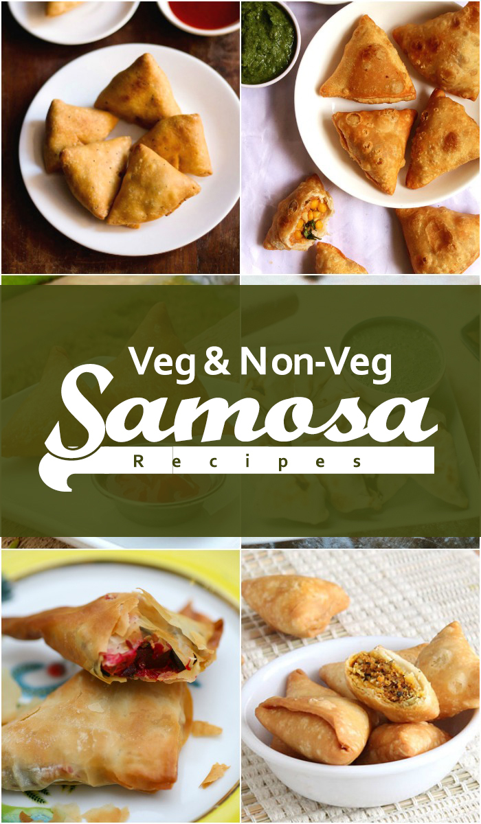 20 Delicious Vegetarian and Non-Vegetarian Samosa Recipes