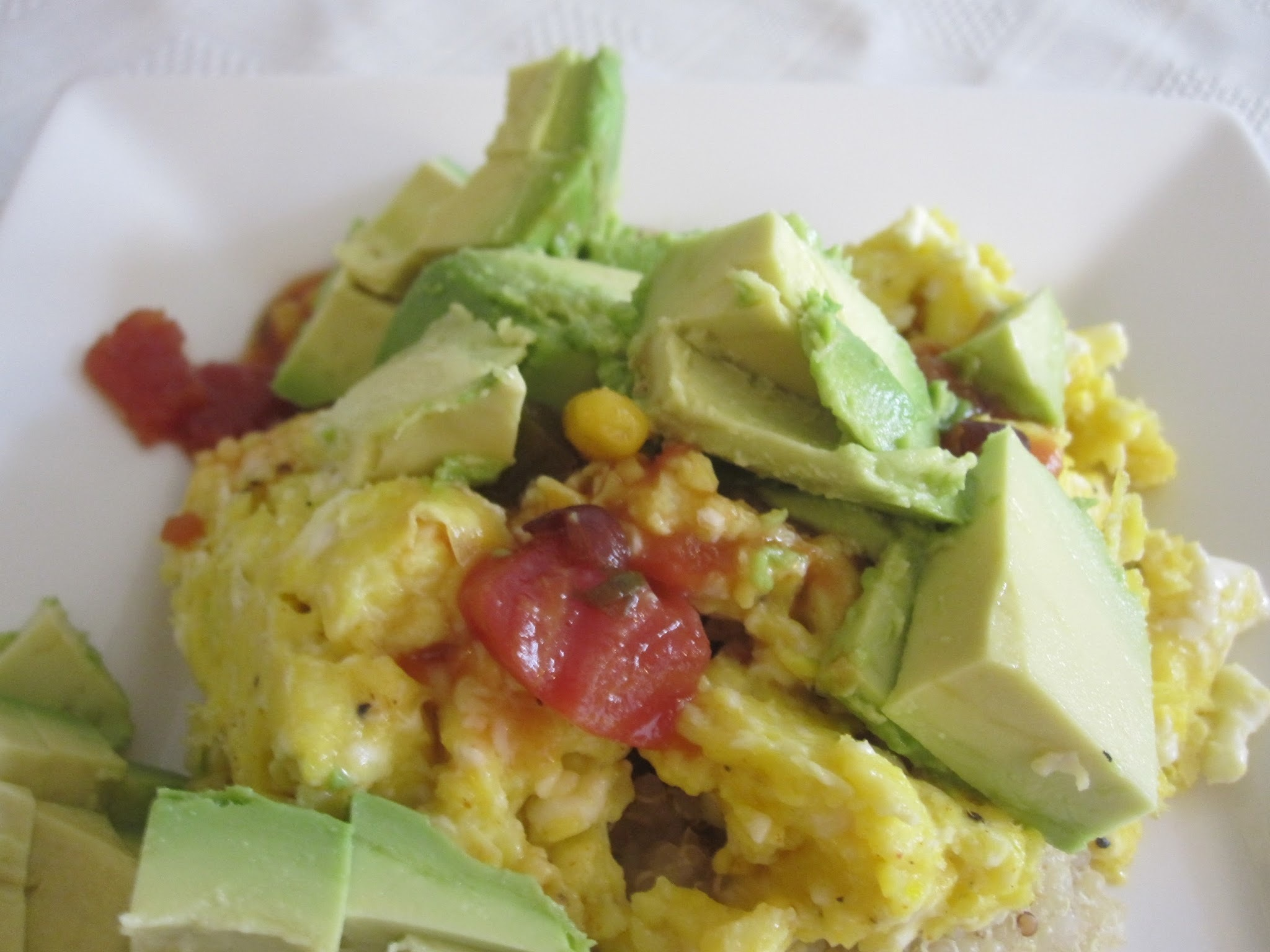 Quinoa Breakfast Scramble