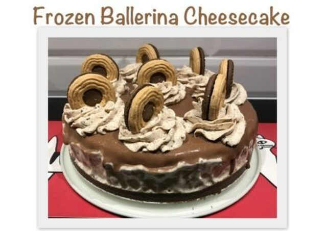 Frozen Ballerina Cheesecake