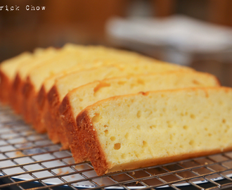 Lemon pound cake ( reduced fat )