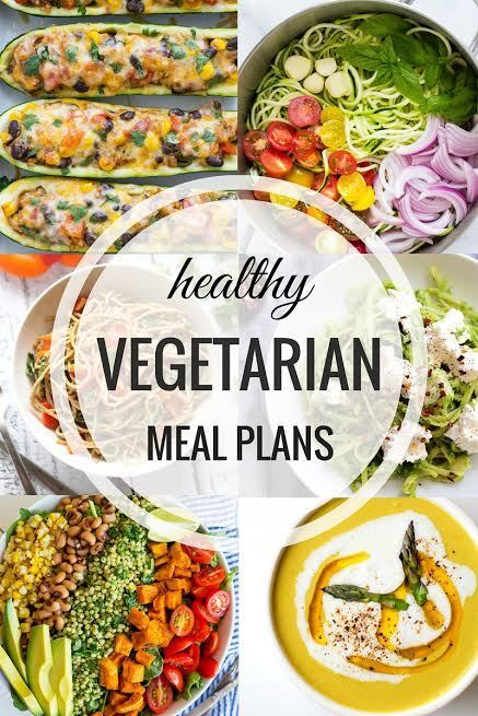 Healthy Vegetarian Meal Plans – Week One