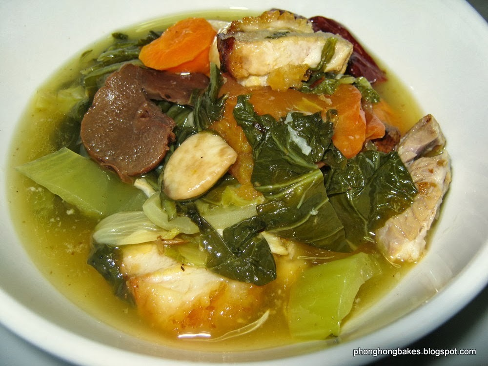 Roasted Pork and Preserved Mustard Green Soup