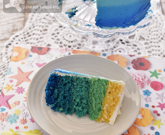 Ombre Cake for Beginners