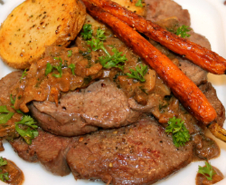 ~ Oh My Goddess of the Hunt:  Divine Steak Diane ~