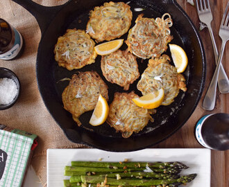 Whitebait fritters fit for kings and queens