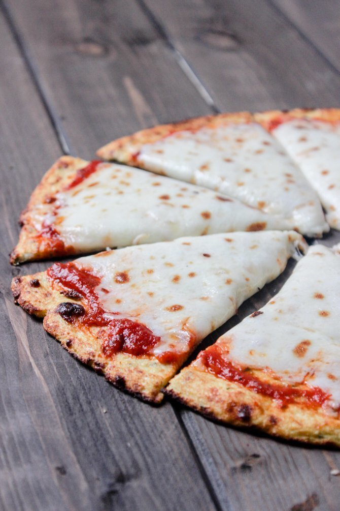 The Best Low-Carb Cauliflower Pizza Crust Recipe